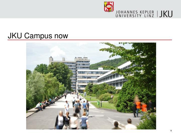 JKU Campus now