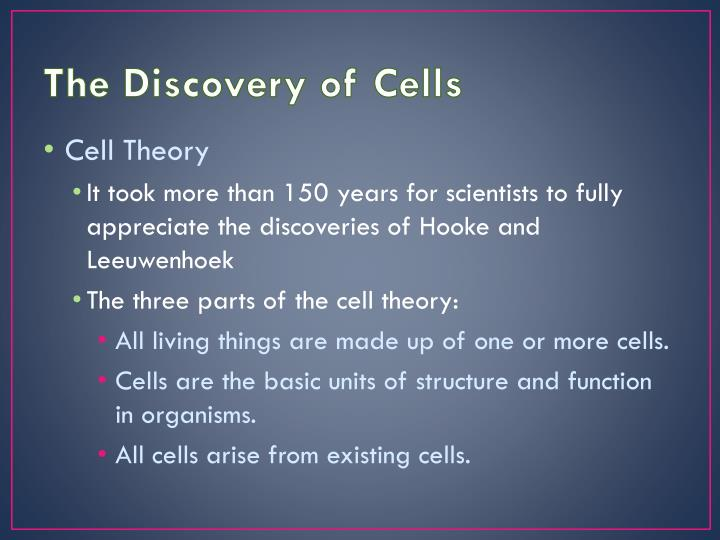 The Discovery of Cells