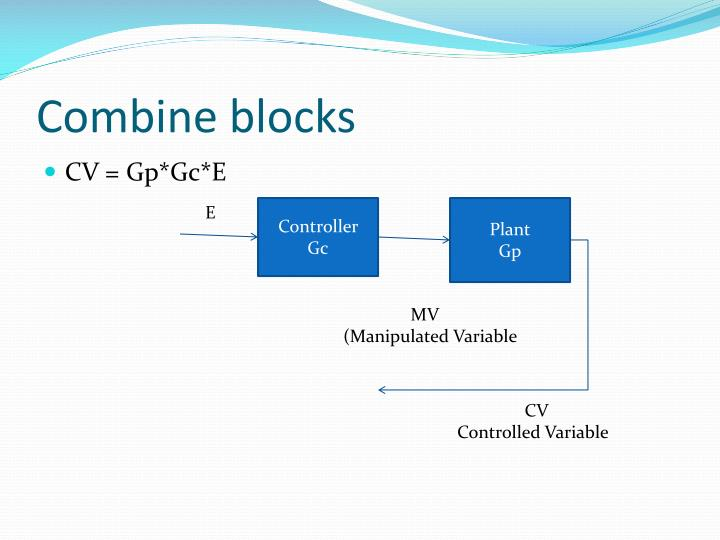 Combine blocks