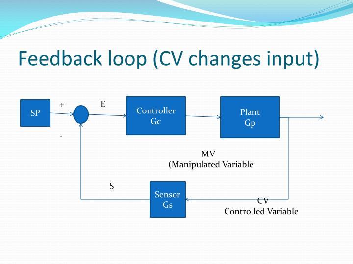 Feedback loop (CV changes input)