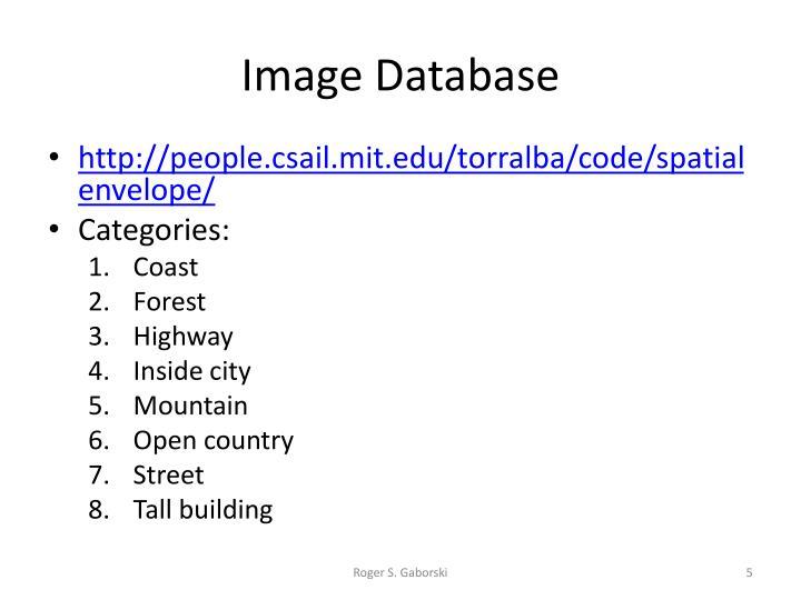 Image Database