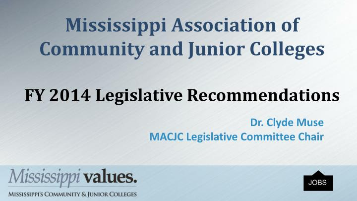 Mississippi Association of Community and Junior Colleges