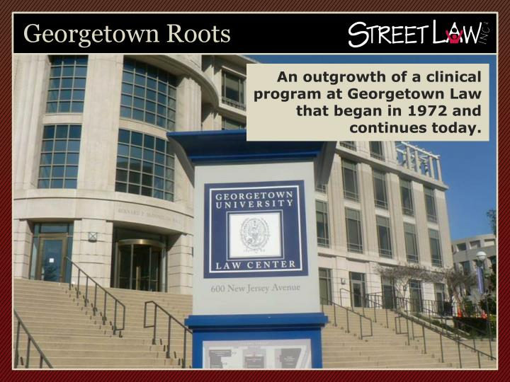 Georgetown roots