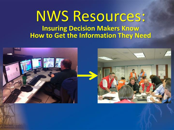 NWS Resources: