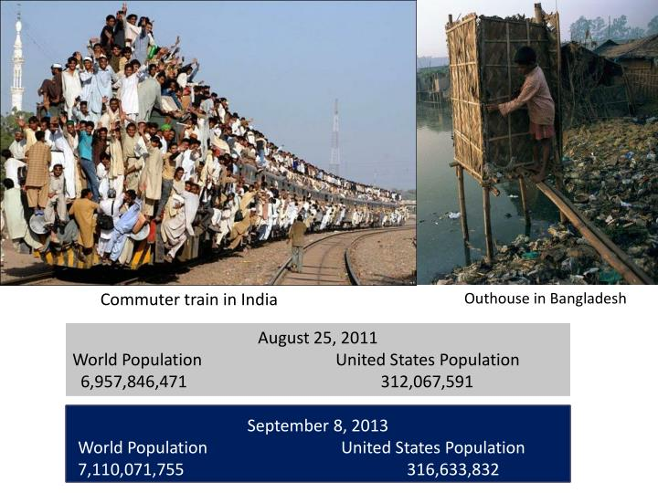Commuter train in India