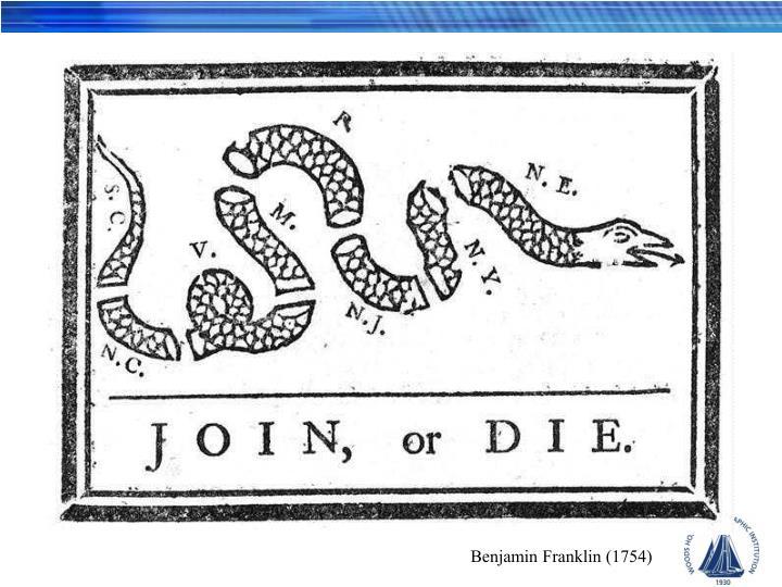 Benjamin Franklin (1754)