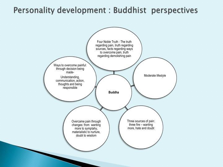 Personality development : Buddhist  perspectives