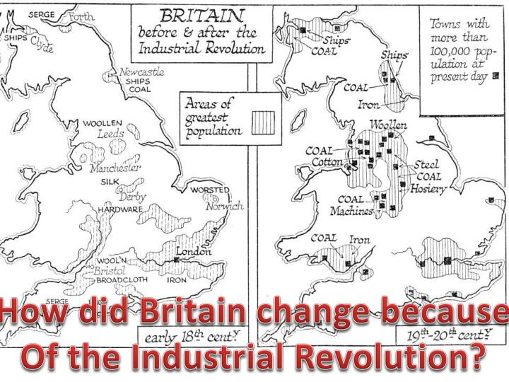 How did Britain change because