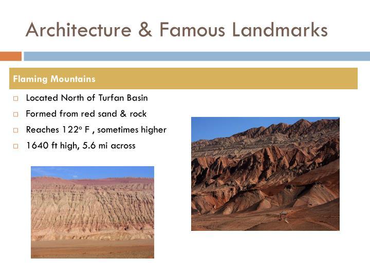 Architecture & Famous Landmarks