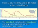 case study fertility and birth rates in the united states2