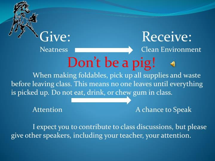 Give: