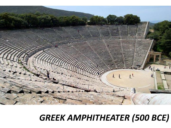 GREEK AMPHITHEATER (500