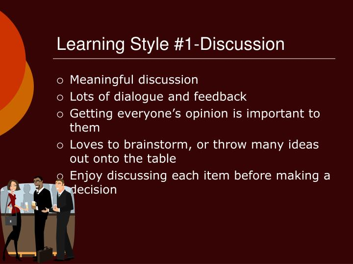 Learning Style #1-Discussion