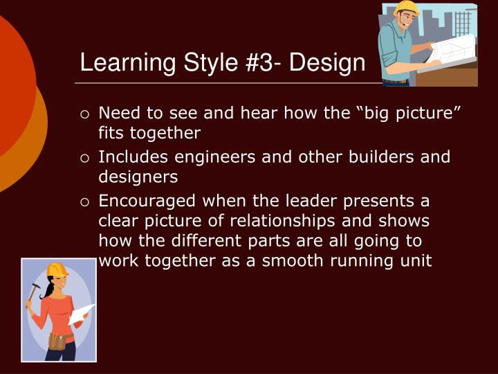 Learning Style #3- Design