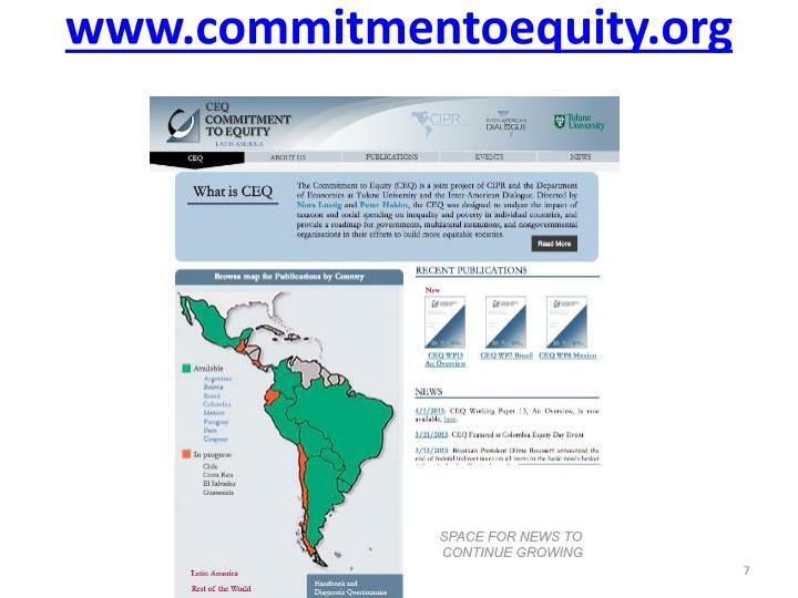 www.commitmentoequity.org