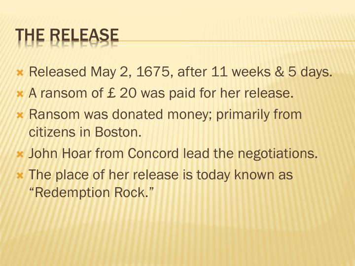 Released May 2,