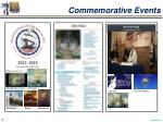 commemorative events
