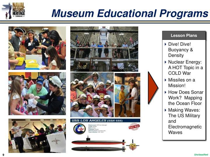 Museum Educational Programs
