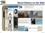 naval history on the web