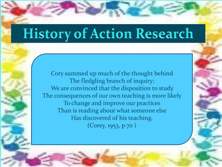 History of Action Research