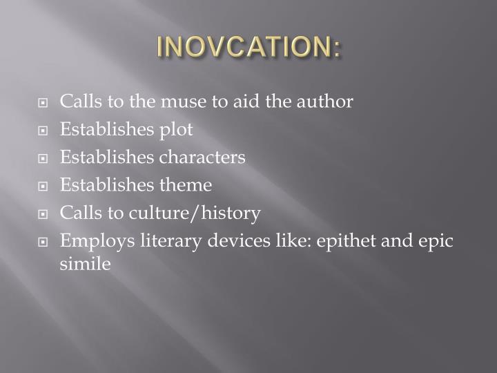 INOVCATION: