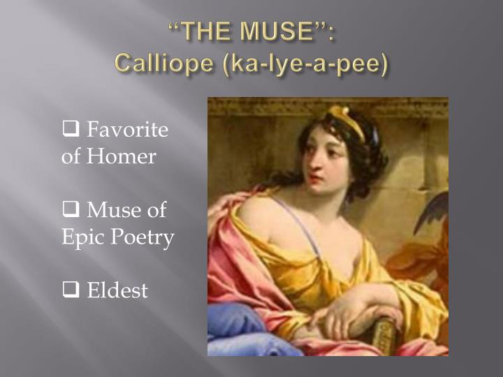 """""""THE MUSE"""":"""