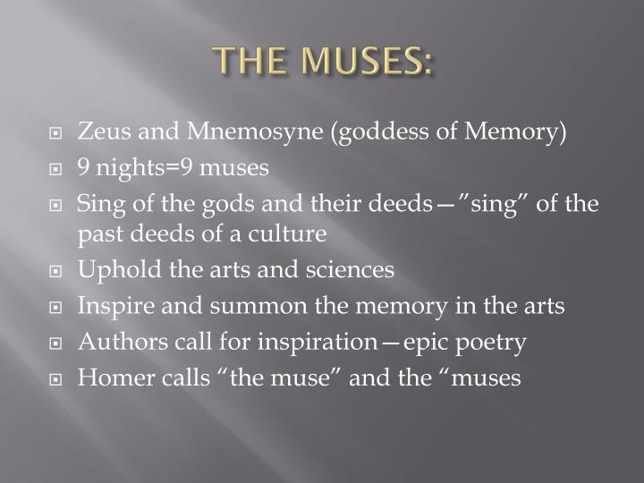 THE MUSES: