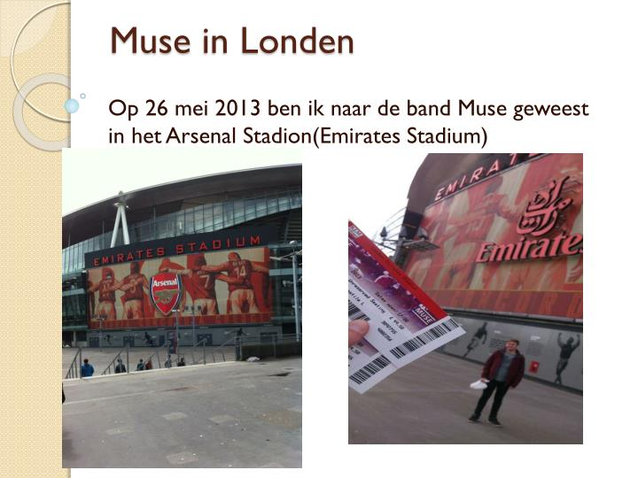 Muse in londen1