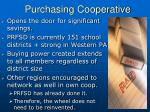 purchasing cooperative