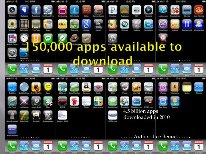 150,000 apps available to download