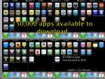 150 000 apps available to download