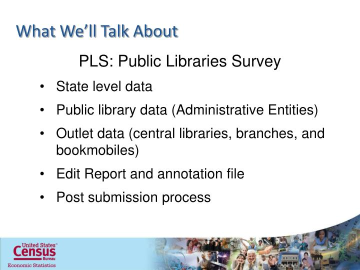 PLS: Public Libraries Survey