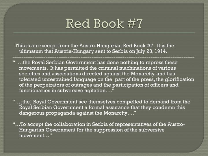 Red Book #7