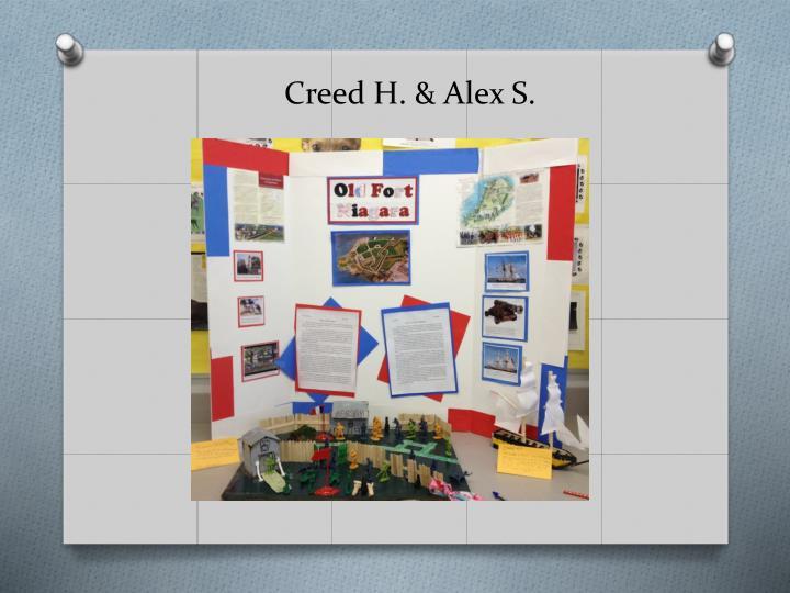 Creed H. & Alex S.
