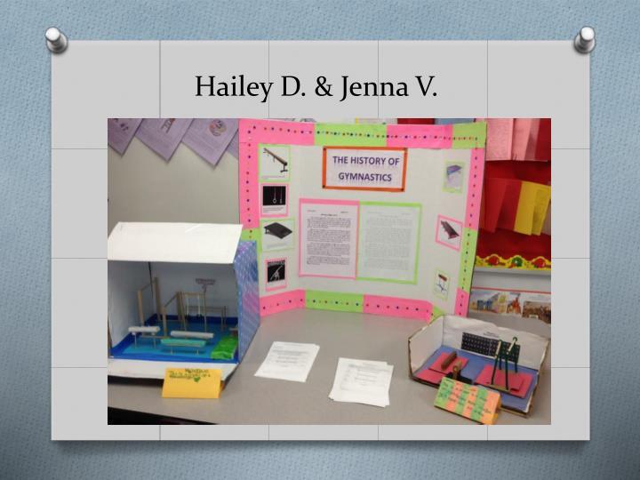 Hailey D. & Jenna V.