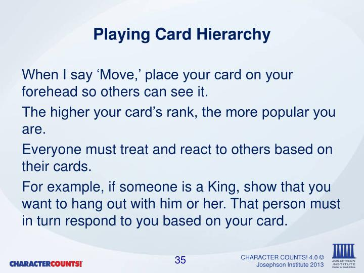 Playing Card Hierarchy