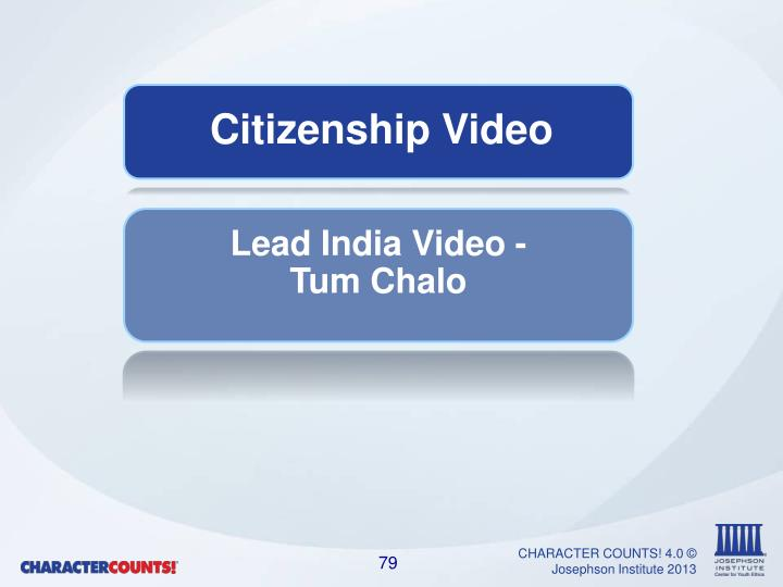 Citizenship Video