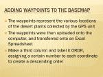 adding waypoints to the basemap