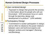 human centered design processes