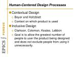 human centered design processes1