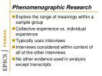 phenomenographic research