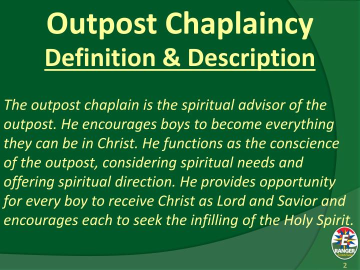Outpost chaplaincy1