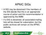 apnic sigs1