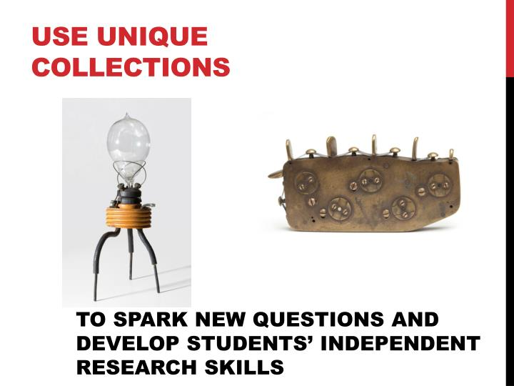 Use unique collections