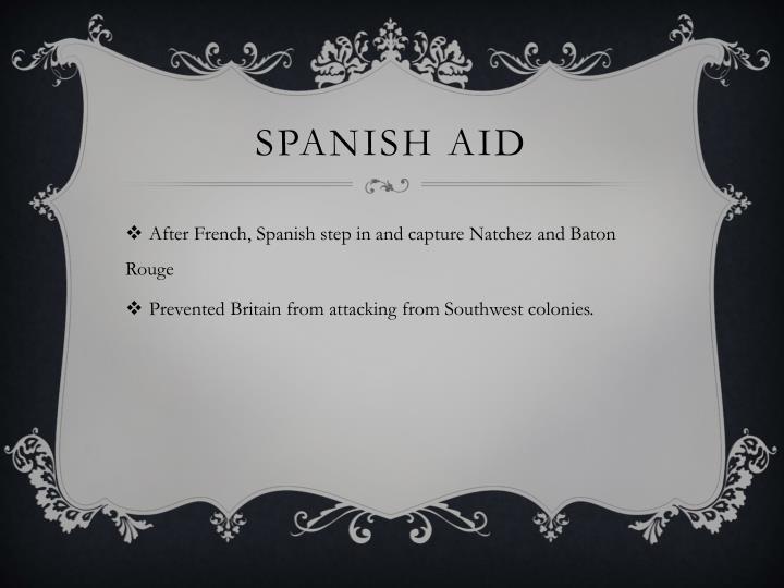 Spanish Aid