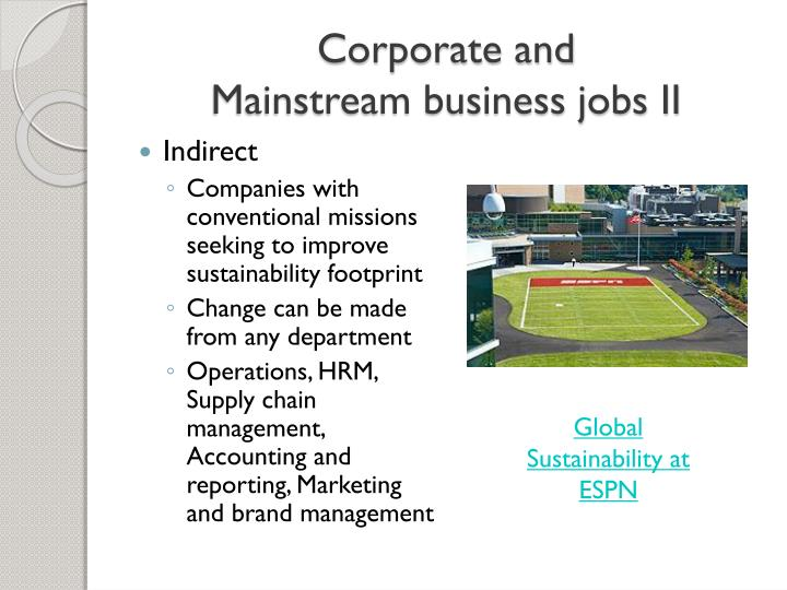 Corporate and