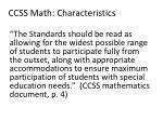ccss math characteristics1