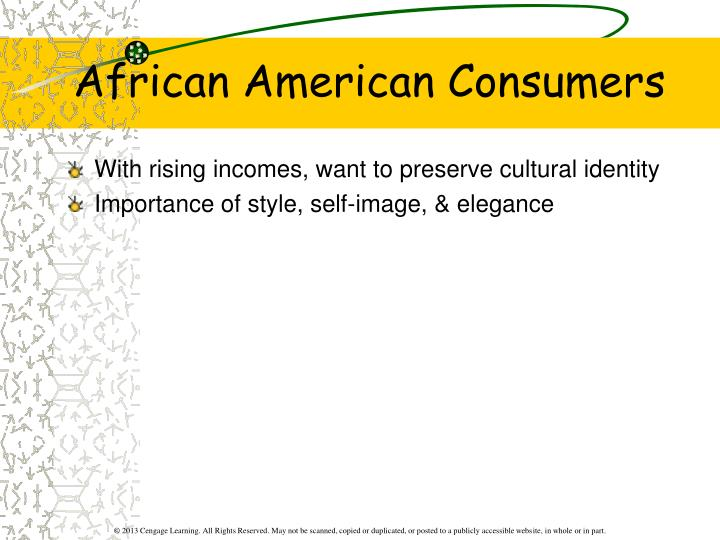 African American Consumers