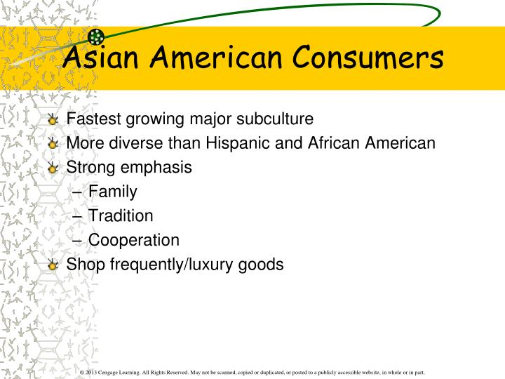Asian American Consumers
