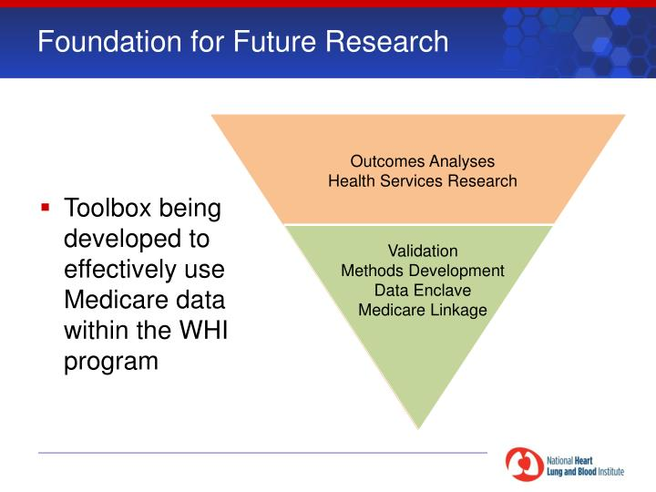 Foundation for Future Research